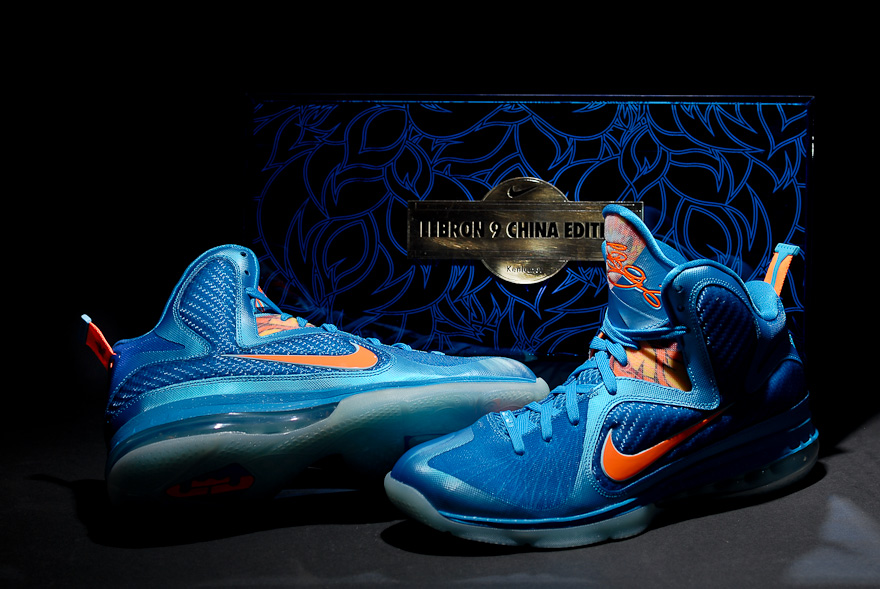 2c167aa8b Nike LeBron 9 China Edition with Special Packaging for Kenlu.net ...