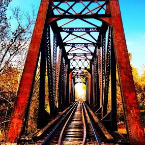 by Kisha Webb - Transportation Railway Tracks