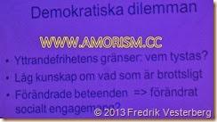 DSC00363.JPG Mänskliga rättighetsdagarna. Klara soppteater. Näthat. Med amorism