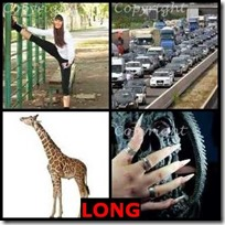 LONG- 4 Pics 1 Word Answers 3 Letters