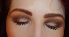 close up eyes with bellapierre Cosmetics_brown eyed girl palette