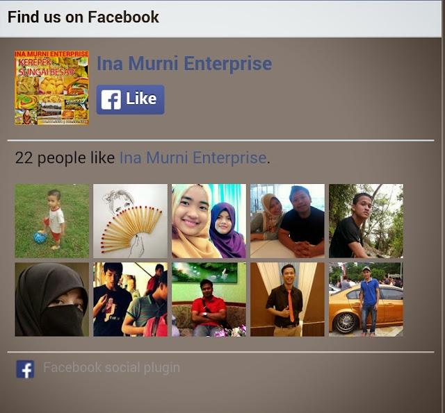 Fan page like