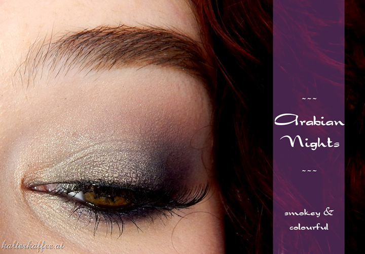 Sleek Arabian Nights Make Up
