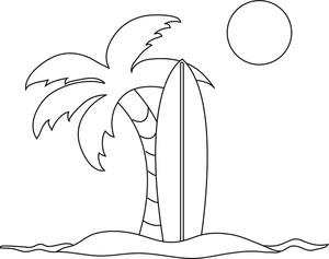 Dibujos De Islas Para Colorear