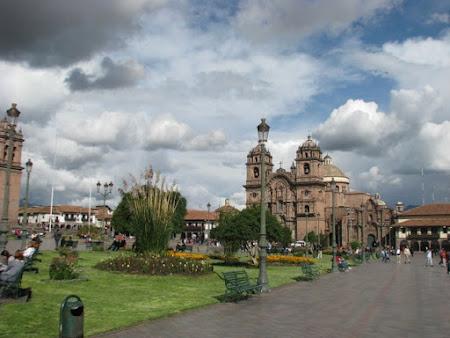 Obiective turistice Peru: Plaza de Armas Cuzco