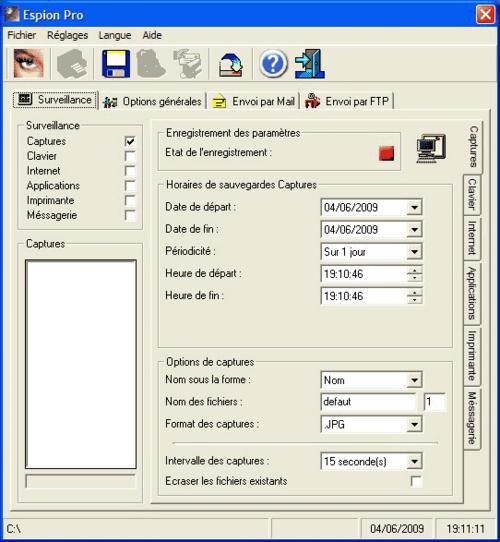 Espion Pro v6.2.5 Full (Bilgisayar Casusu)
