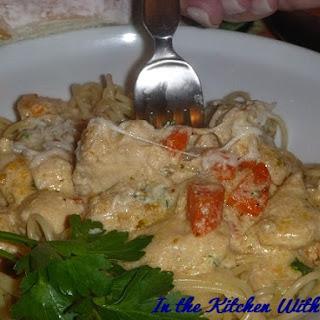 April's Creamy Chicken Spaghetti