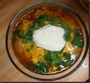 Crockpot Tortilla Soup