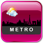 Metro Clock Widget icon