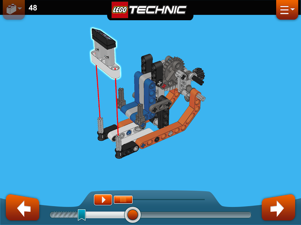 LEGO® Building Instructions - screenshot
