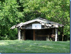 4191 Indiana - Benton, IN - Lincoln Highway (US-33) - remnants of Benton's Log Cabin Camp