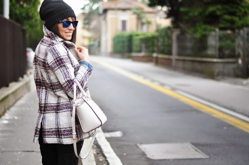 outfit, tartan, giacca a quadri, mood tartan, italian fashion bloggers, fashion bloggers, street style, zagufashion, valentina coco, i migliori fashion blogger italiani
