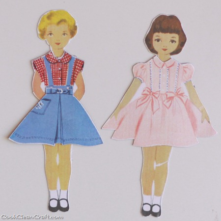 Magnetic Paper Dolls (2)