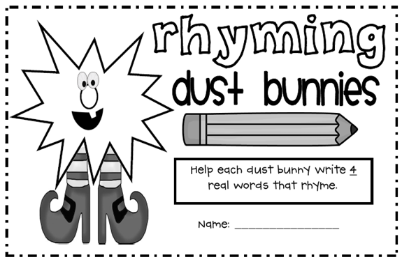 Made for 1st Grade: Rhyming Activities