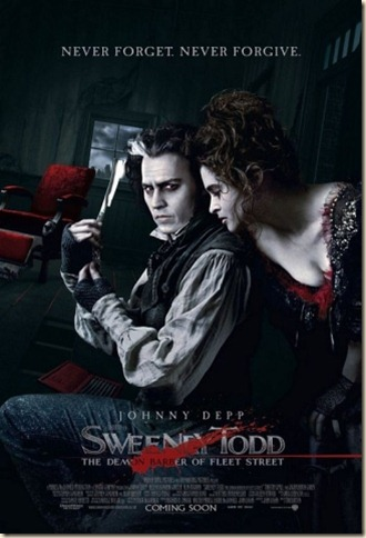 sweeney todd and lovett poster