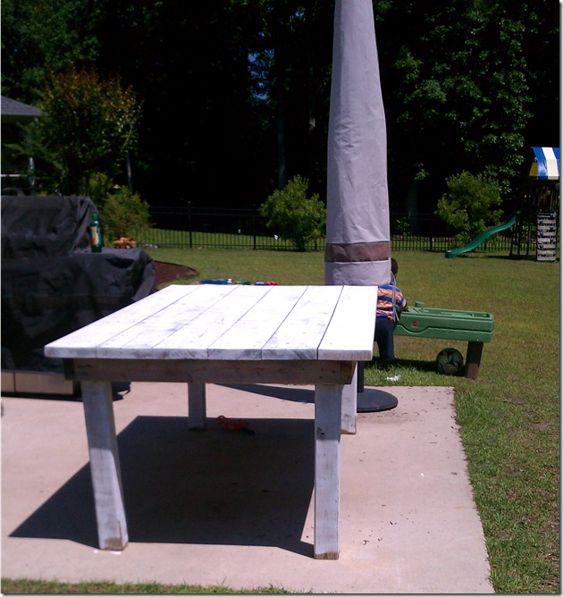 Our Made from Scratch Picnic Table: A DIY- design addict mom