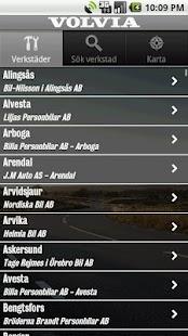 Volvia - Försäkring för Volvo- screenshot thumbnail