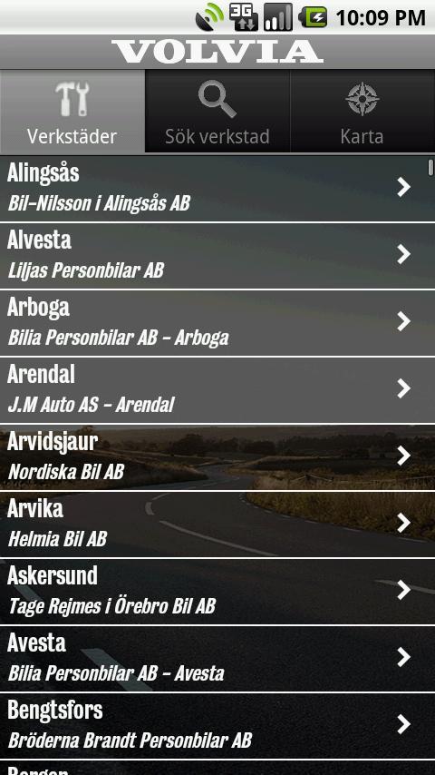 Volvia - Försäkring för Volvo- screenshot