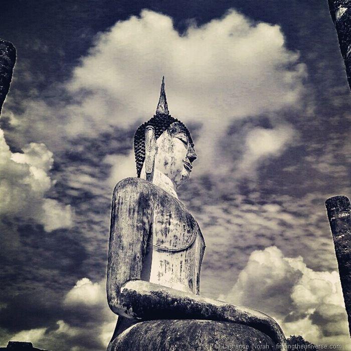 Statue in Sukhothai historical park Thailand