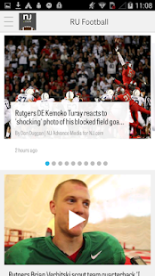 NJ.com: Rutgers Football News- screenshot thumbnail