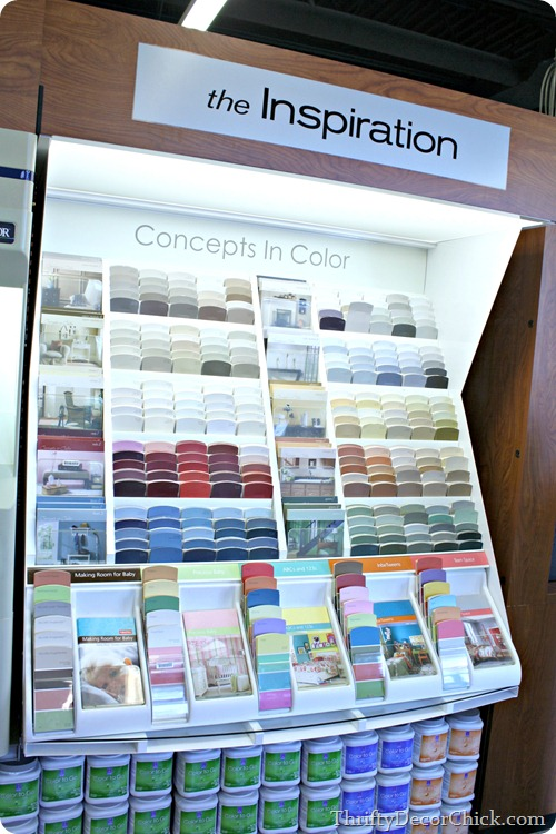 tips for picking out paint colors