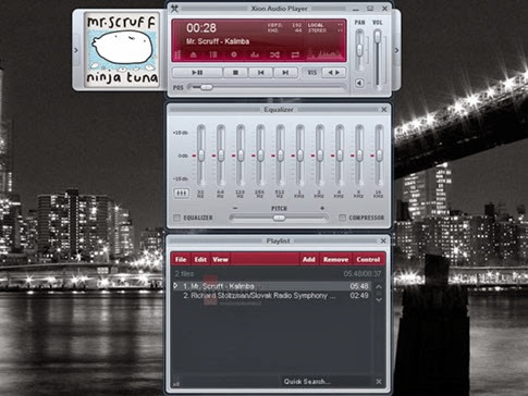 Xion Audio Player - Alternativa a Winamp