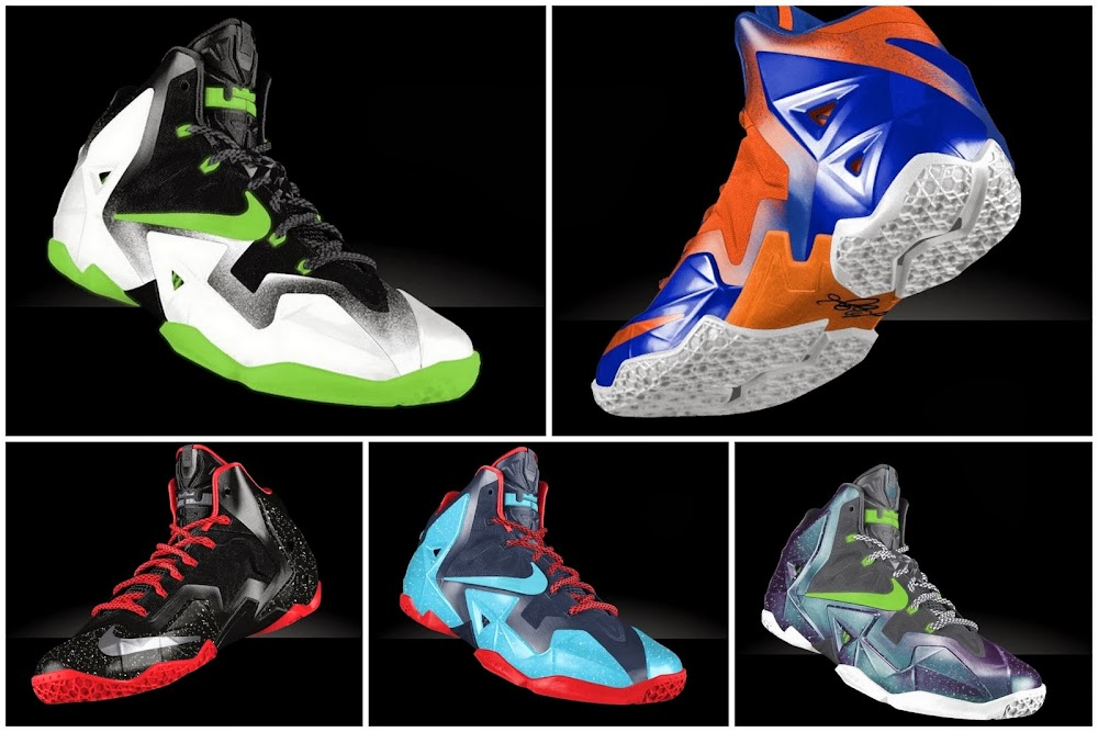 da911f92278 Preview LeBron XI iD8230 Galaxy Glow in the Dark and Much More ...