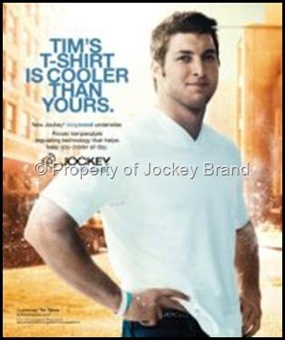 jockey - tebow