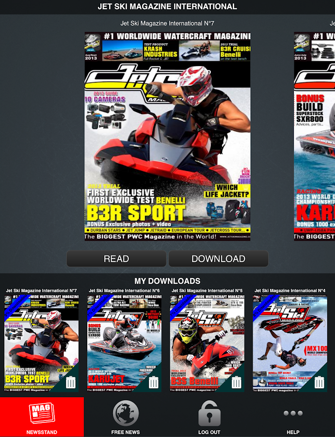 Jet Ski Mag Int'l - screenshot