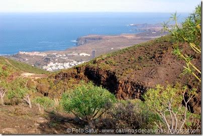 7266 Puerto Las Nieves-Barranco Oscuro(Agaete)