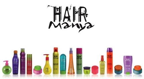 línea de productos Hair Mania