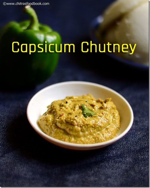 Green capsicum chutney