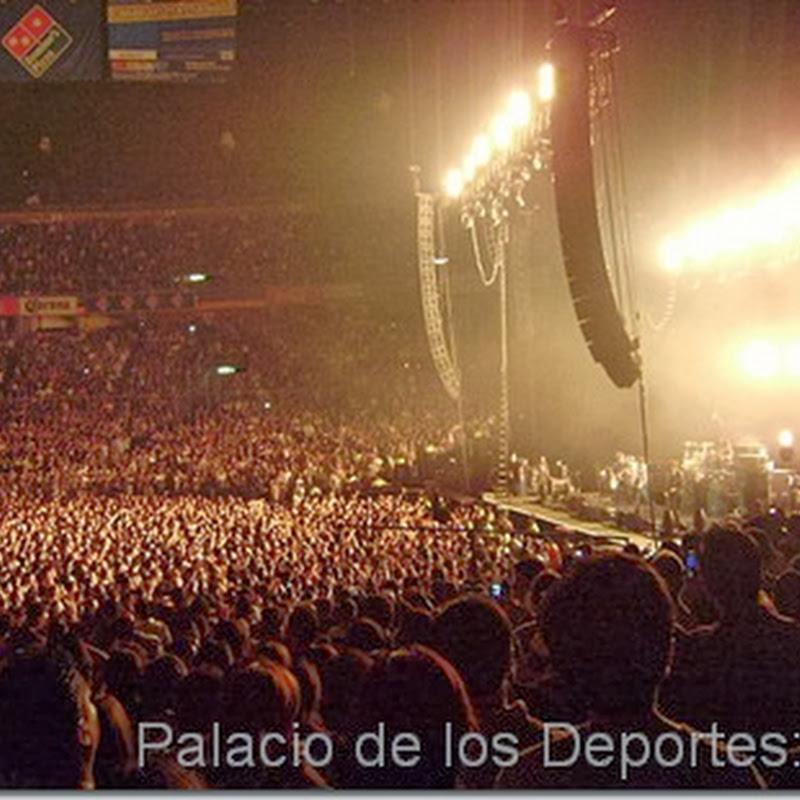 Bandas que se han presentado en Palacio de Deportes en Mexico