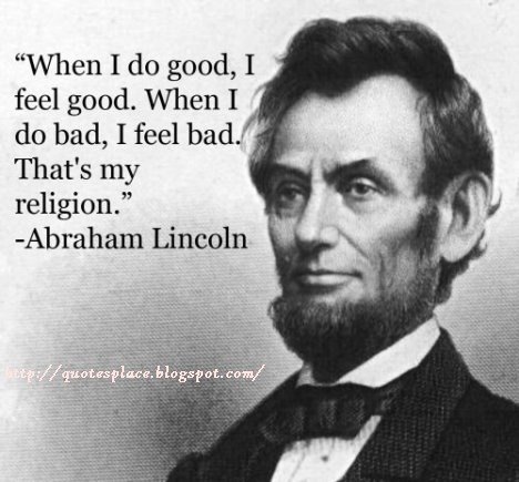 Abe Lincoln Quote 3 Quotes Links
