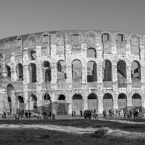 Colosseum by Iqbal Ahmed - Buildings & Architecture Public & Historical ( colosseum, rome, ahmed, iqbal, gladiator )