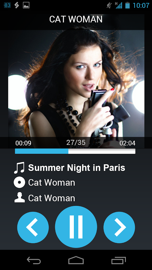 AALinQ Car Music Player - screenshot