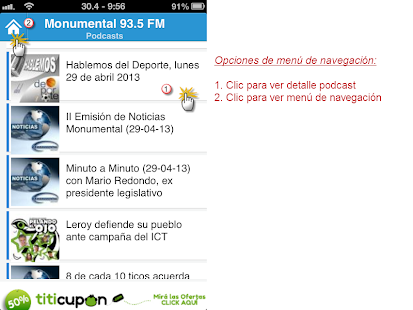 Radio Monumental 93.5 FM - screenshot thumbnail