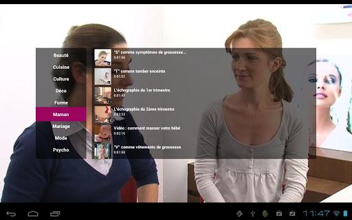 aufeminin.tv video mode beauté