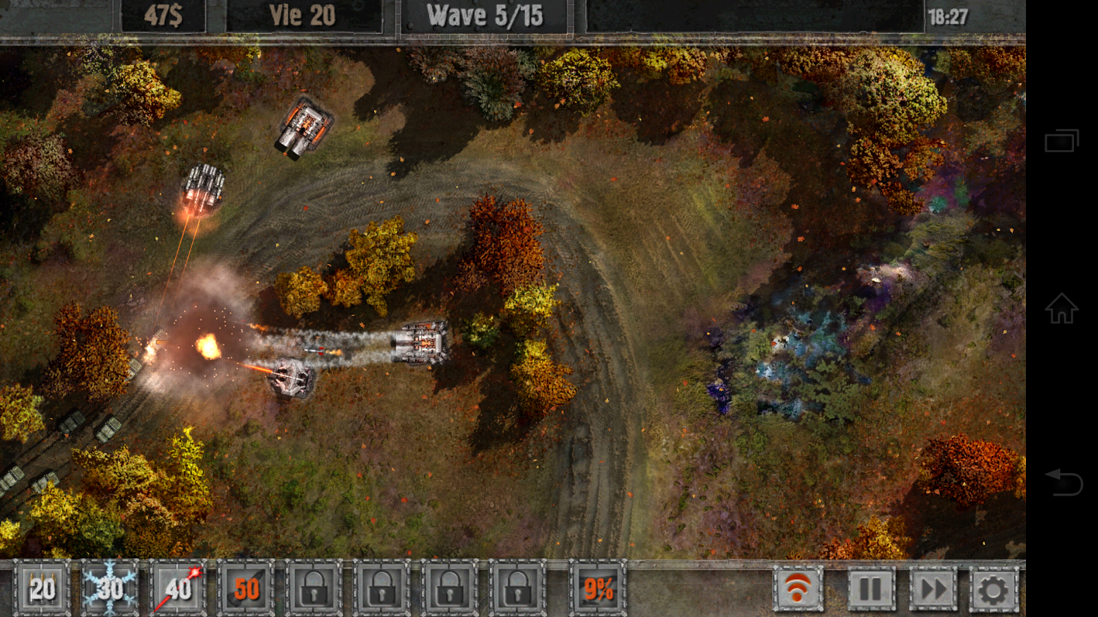 Defense zone 2 HD Lite - screenshot