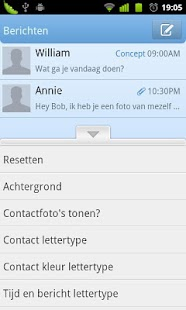 GO SMS Pro Dutch language - screenshot thumbnail