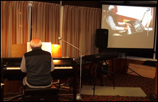 Our Guest Artist was the President of the Organ Society of NZ Inc., Rob Powell. Rob played the Clavinova CVP-509 showing off the instruments versatility in genres and sounds - not to mention Rob's wonderful musicianship!