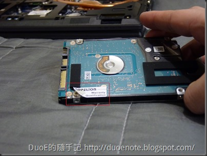 CJSCOPE QX-350HD i7 獨顯筆電-硬碟