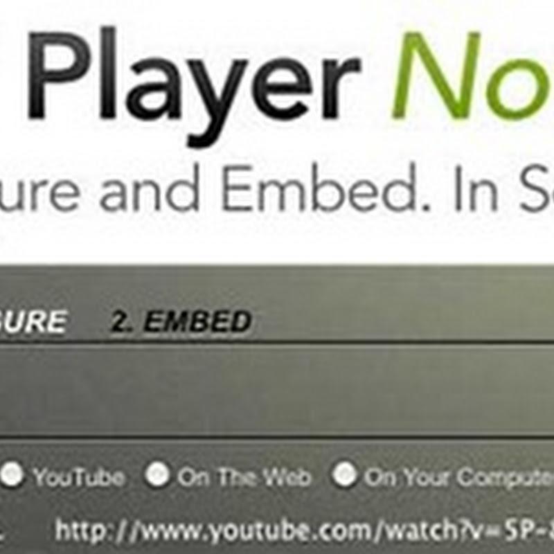 JW Player permette a chiunque abbia un sito di sostituire il semplice embedded da YouTube con un vero e proprio player.