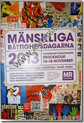 DSC00327.JPG Mänskliga rättighetsdagarna 2013. Med amorism