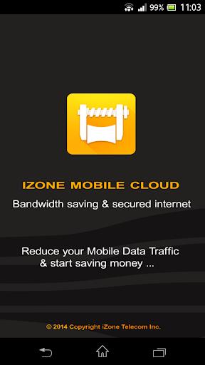 iZone Cloud Data Savings