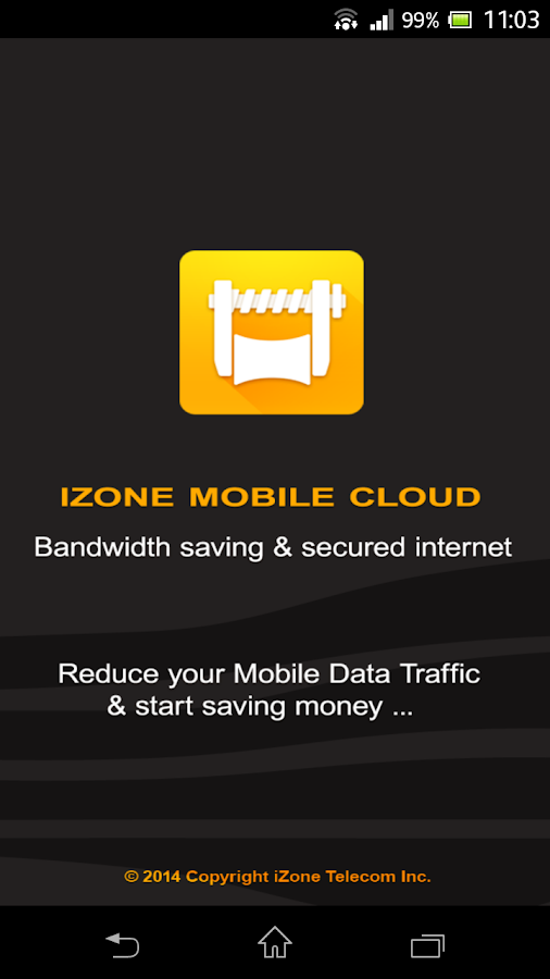 iZone Cloud | Data Savings- screenshot
