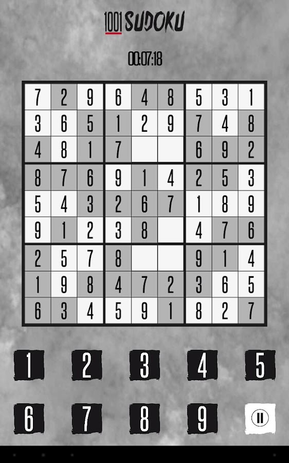 Sudoku 1001- screenshot