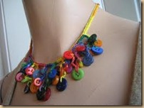 crochet necklace color