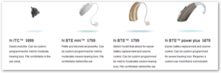 Hi healthinnovations hearing aids