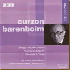 Mozart 27 Curzon Barenboim